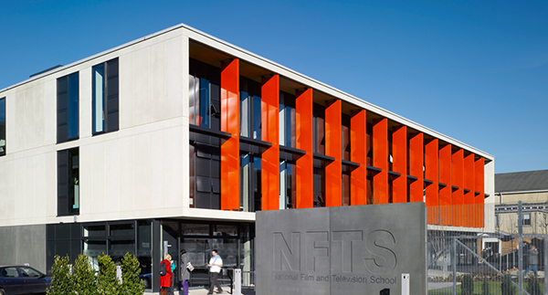 Exterior of the NFTS