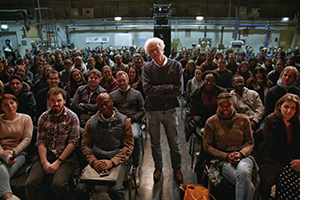 Roger in the audience of NFTS seminar