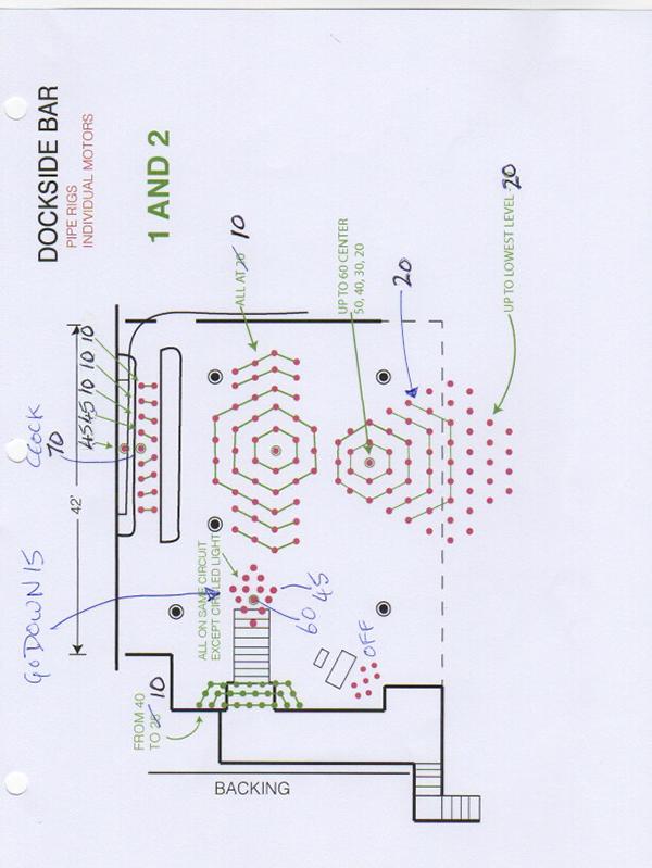 Sections 1 & 2 - Lighting plan
