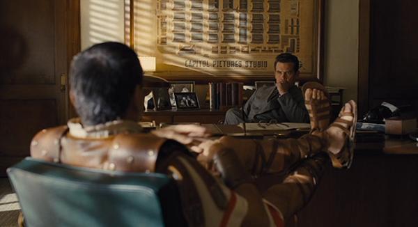 Baird in Eddie's office