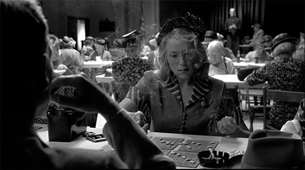 Doris concentrates on Bingo