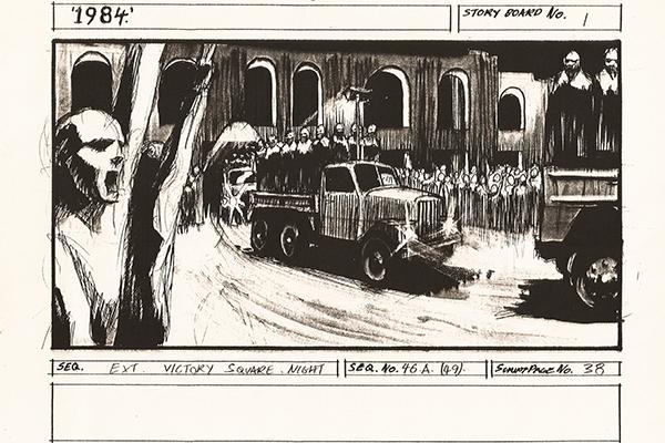 1984 Storyboard frame